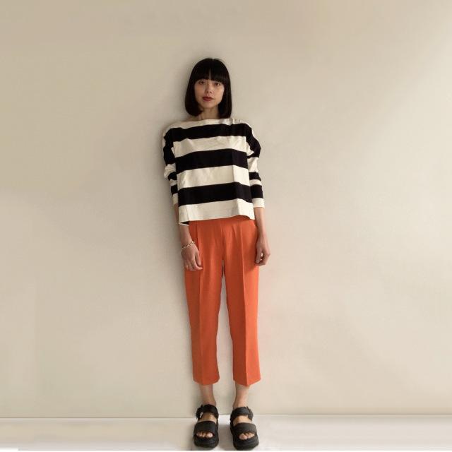 Marisol5月号の特集「きれい色」に倣ってオレンジボトムを着回してみた!!_1_4