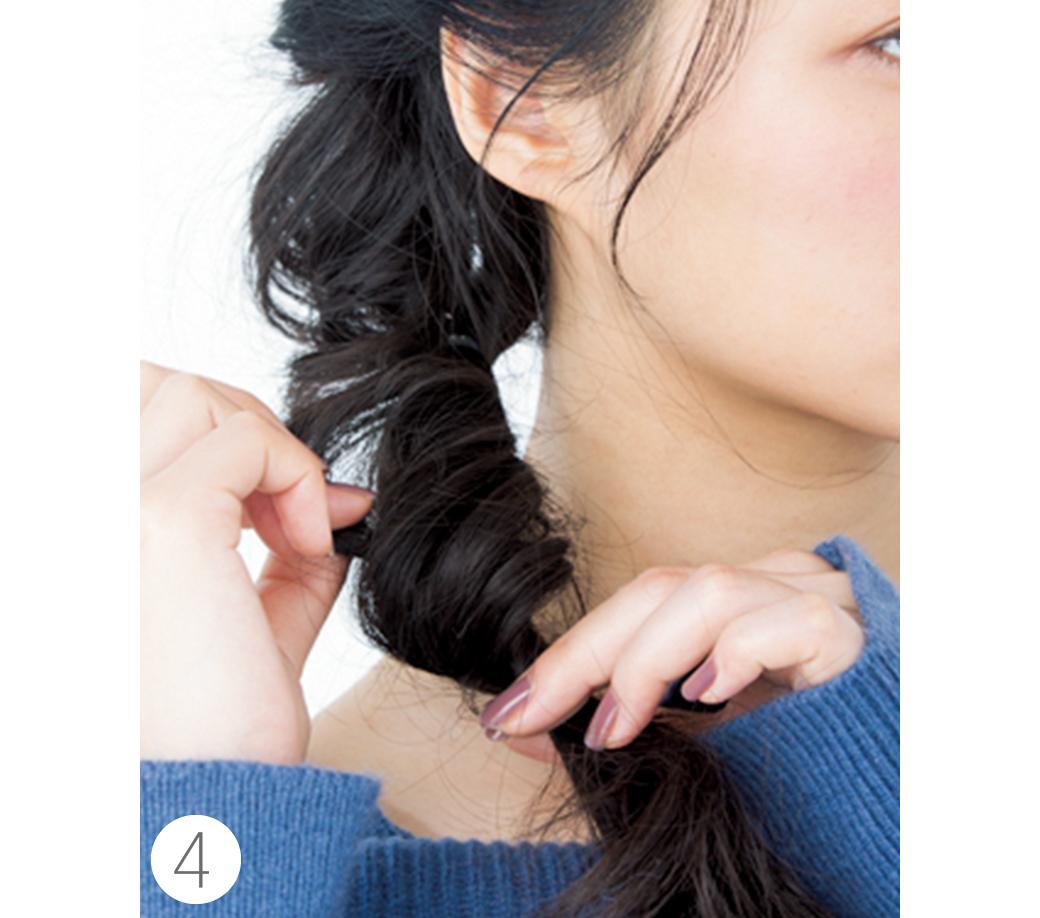ミディアムからOK★簡単なのに女子会でモテちゃうヘアアレンジはコレ!_1_3-4