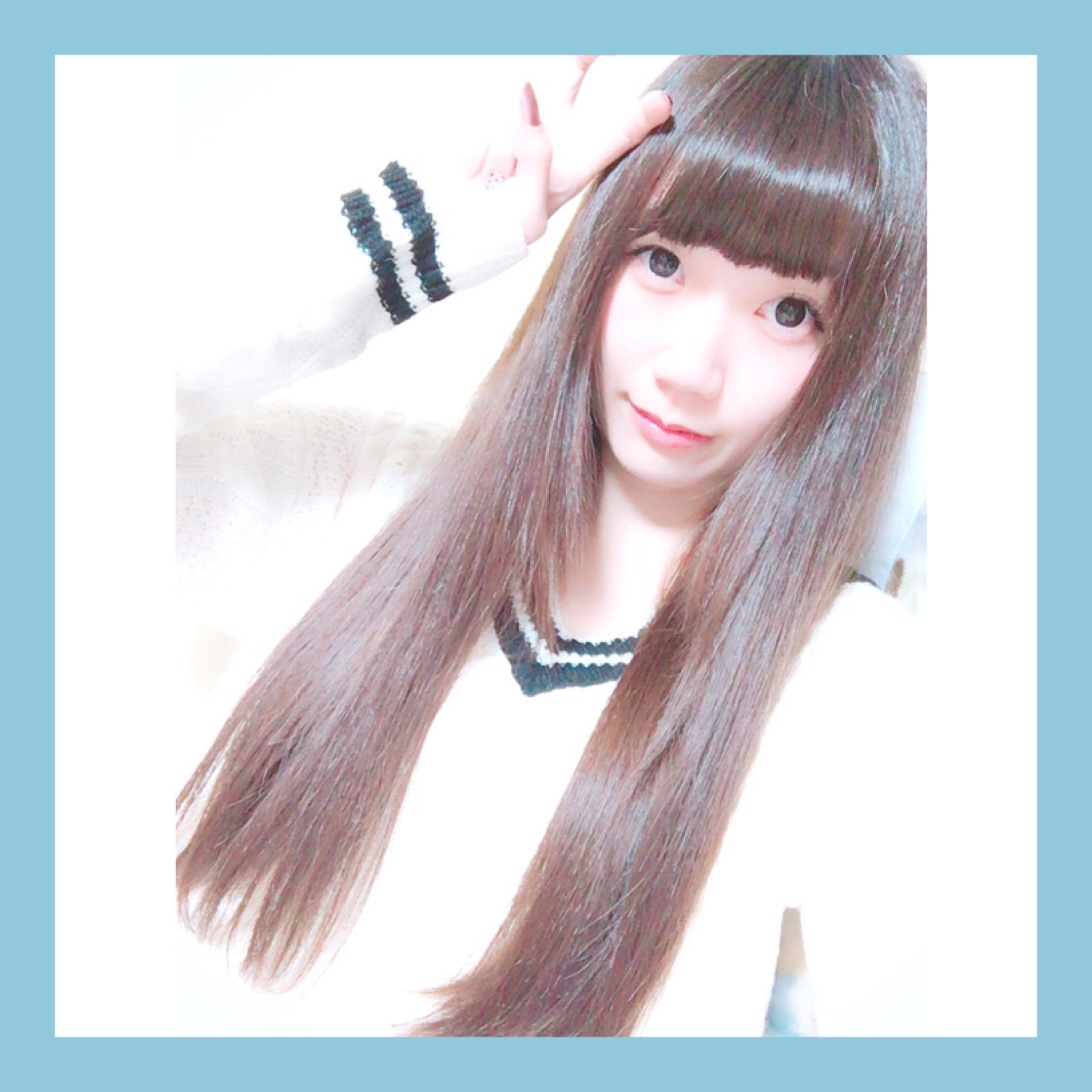 """【ヘアカラー&カット】バッサリ""""-8cm""""!!イメチェンしました◡̈*❤︎_1_2-1"""