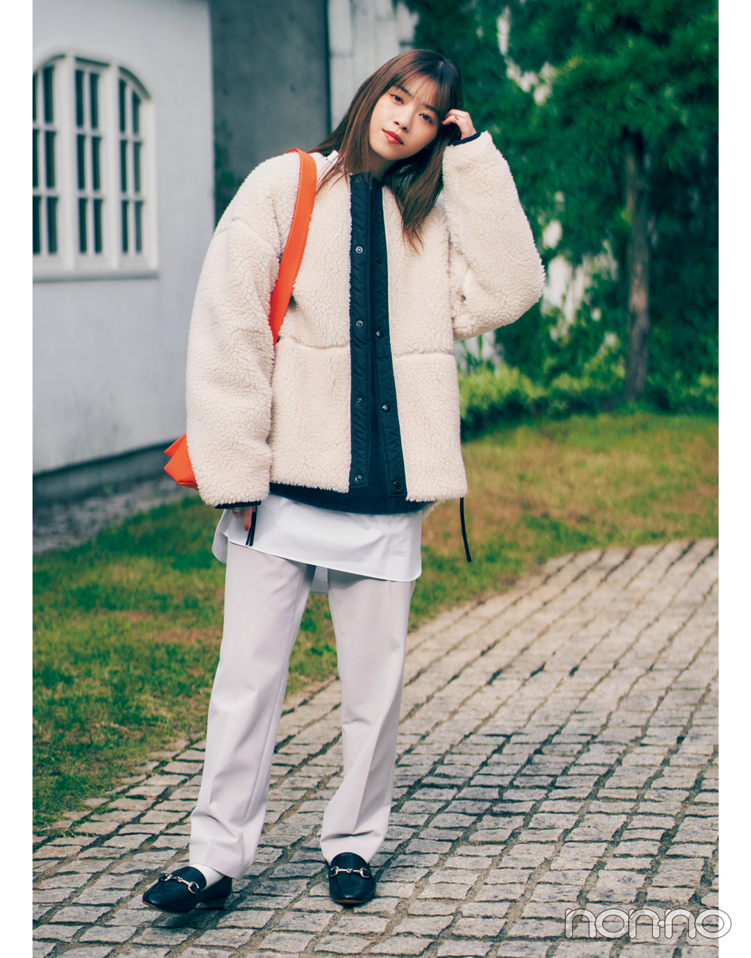 西野七瀬の冬私服♡ 着心地も重視したなぁちゃん流ワントーンコーデ!_1_3