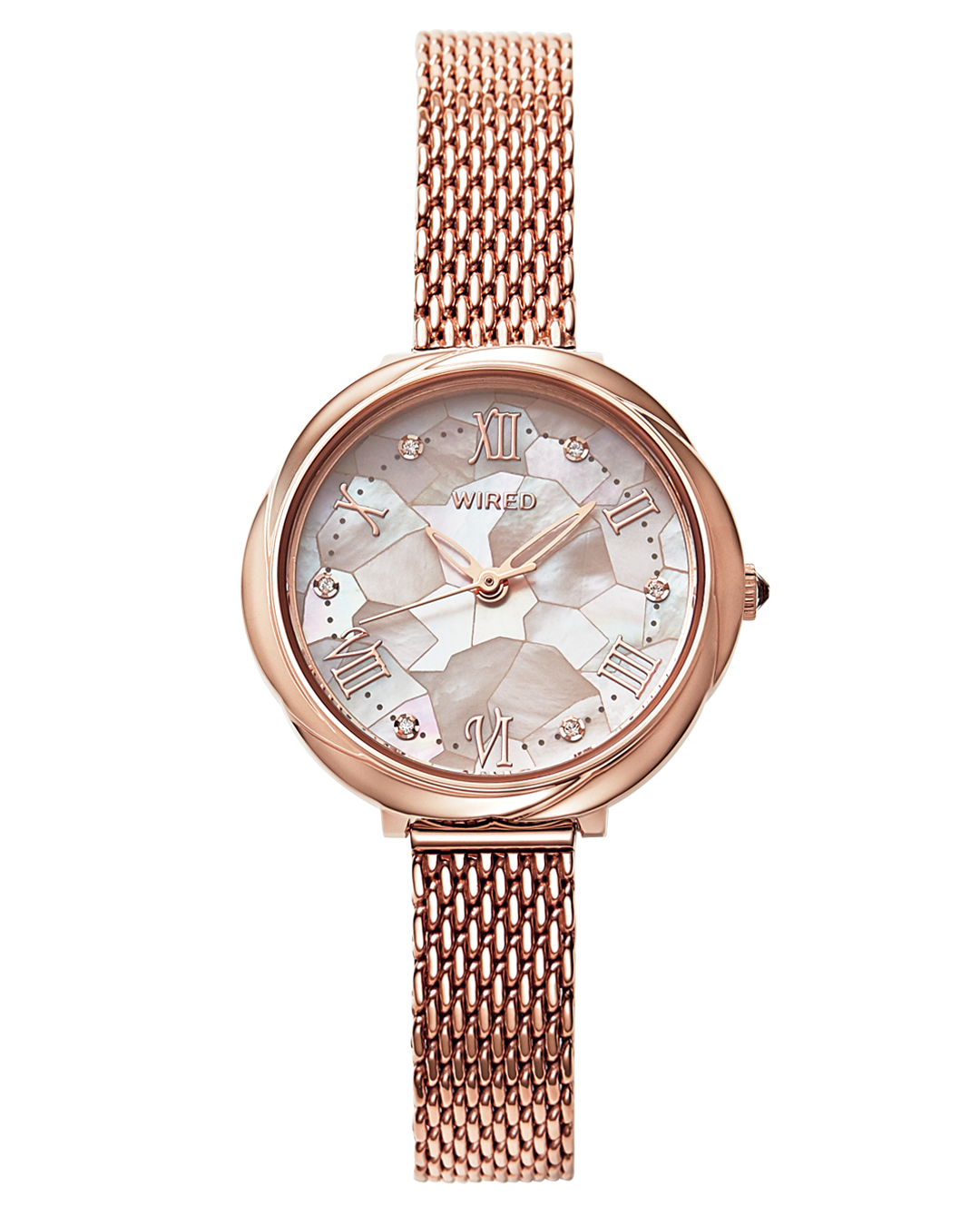 花モチーフのWIRED f(ワイアード エフ)が私の相棒♡ 清楚感も好感度も。決め手は腕時計!_1_3