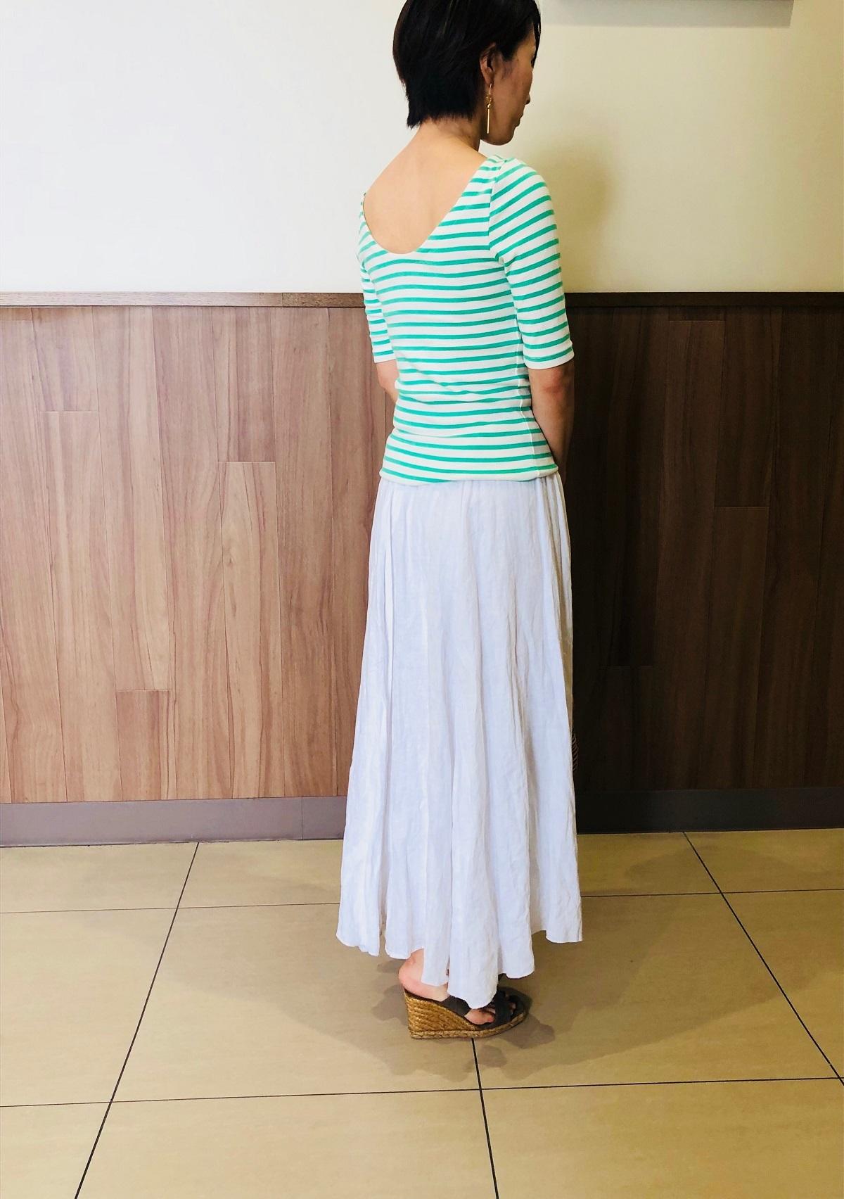 Gapでみつけたシンプルだけど、女っぷりUPなTシャツ_1_1-1