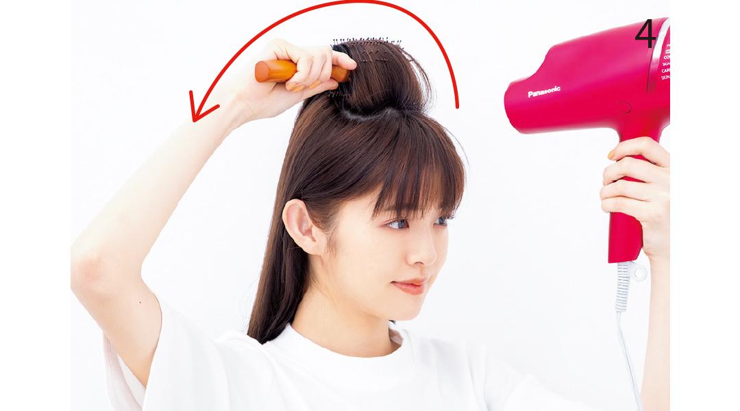 「梅雨でもヘア崩さない女子」のブロー技を超ていねい解説!_1_6