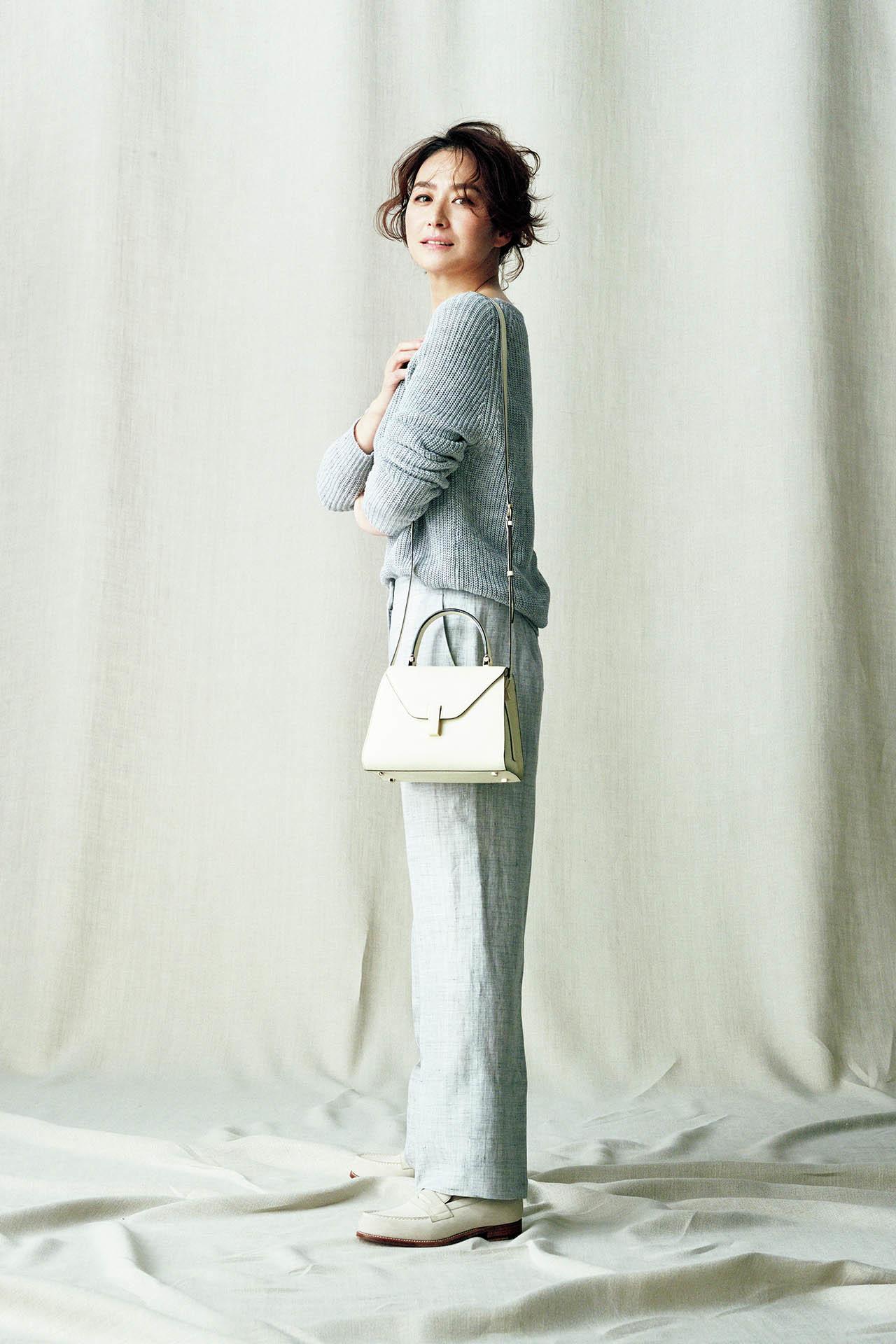 表情豊かな極上の素材。亜希、きれいに「麻」を着る 五選_1_1-2