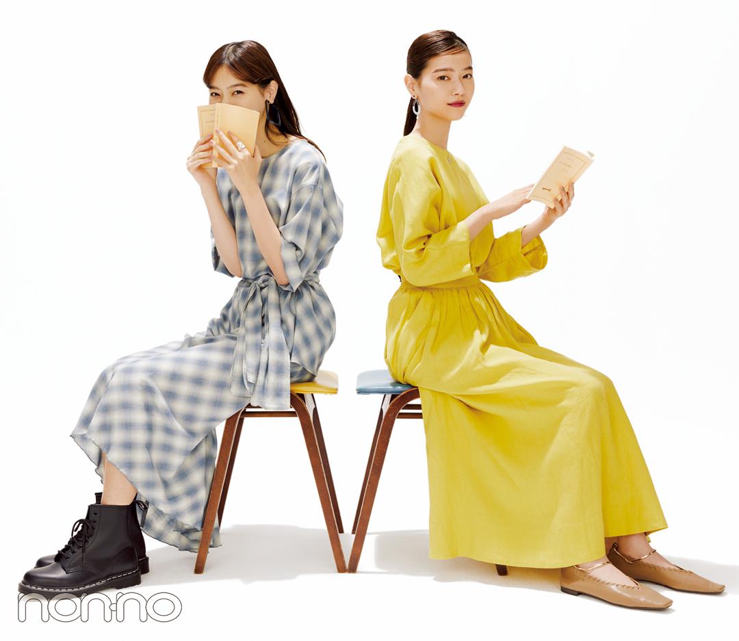 西野七瀬のブラウス&スカートで「セットアップの双子」【DAY7】_1_3