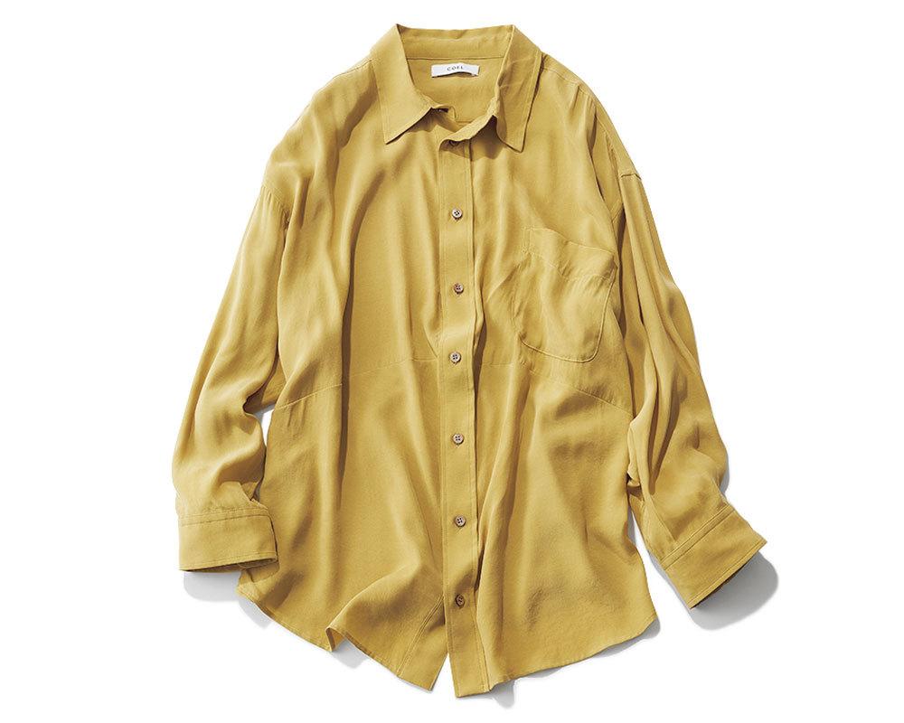 リモートトップス「シトラスカラーシャツ」2