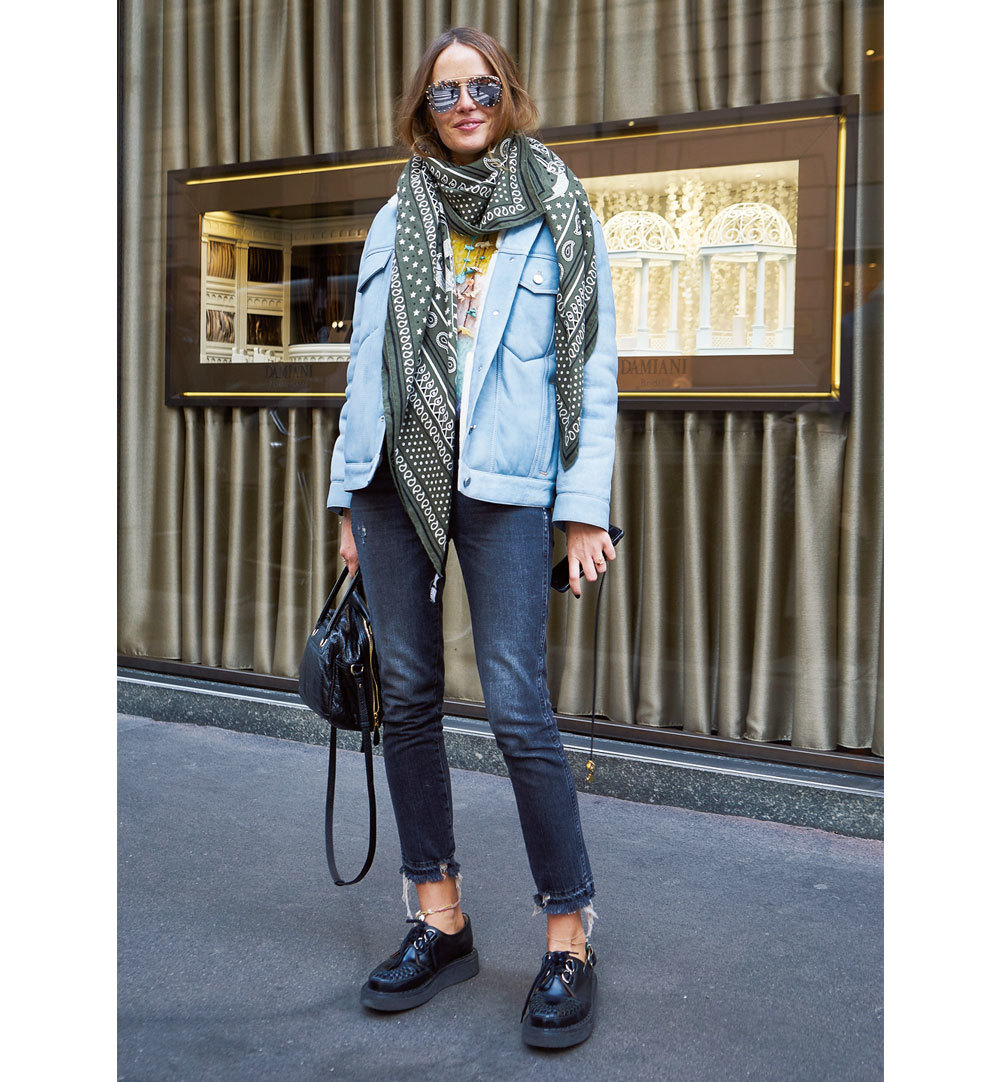 「デニム」は短め、スキニー、カットオフの三択【ファッションSNAP ミラノ・パリ編】_1_1-5