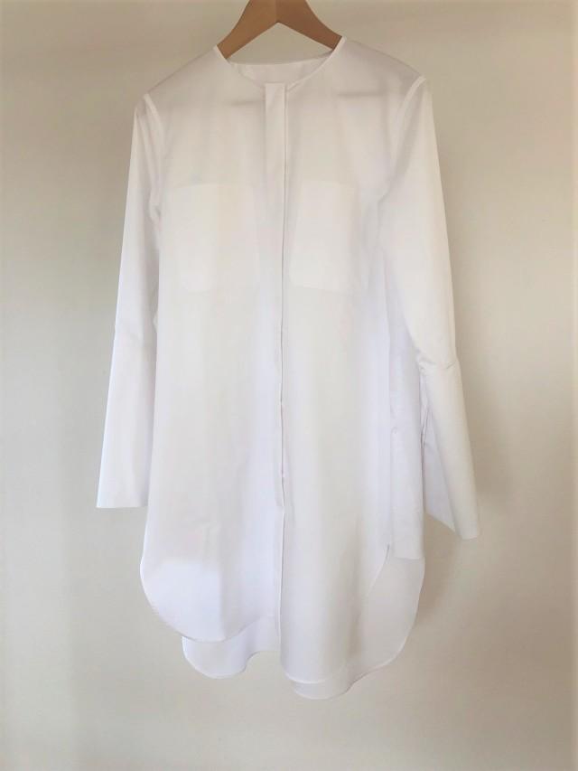 秋物購入品②ロングシャツと靴擦れしないフラットシューズ_1_2