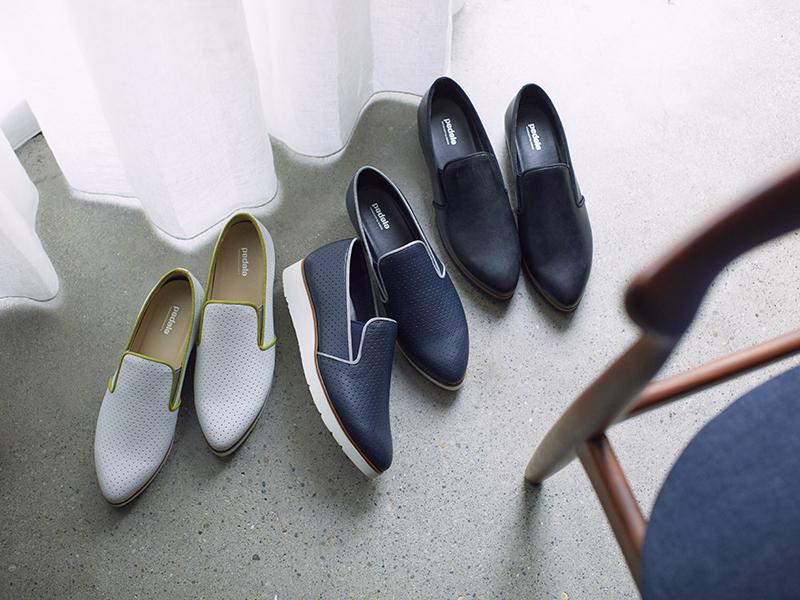 ●靴「ペダララシック」(3cm)各¥28,600/アシックスジャパン(ペダラ)