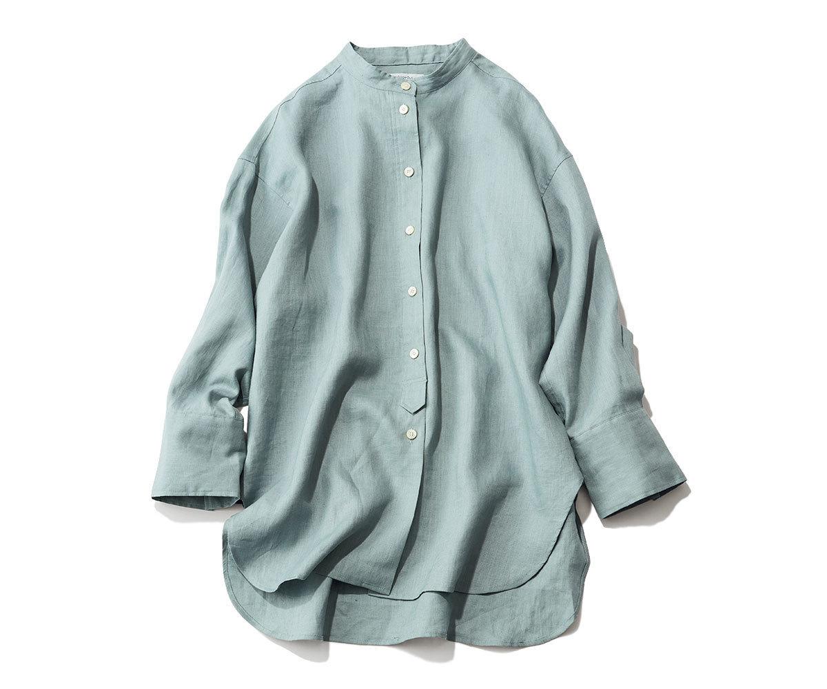 「夏はおり」羽衣シャツ1