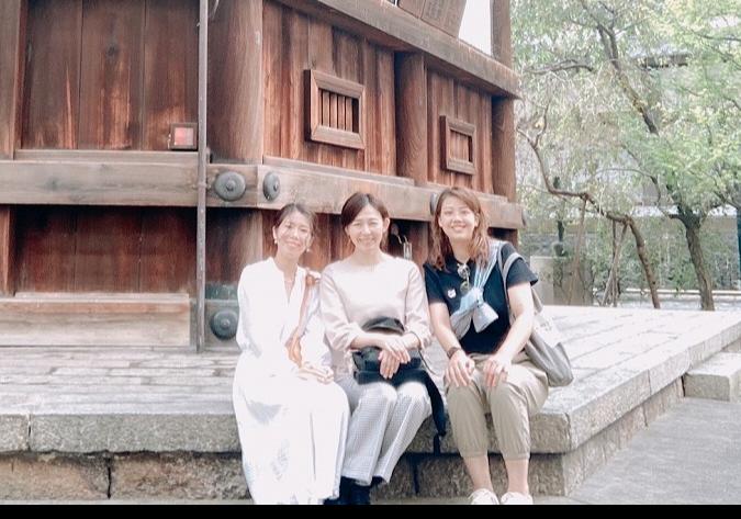 旬ベージュコーデで秋の京都・六角堂散策_1_2-2