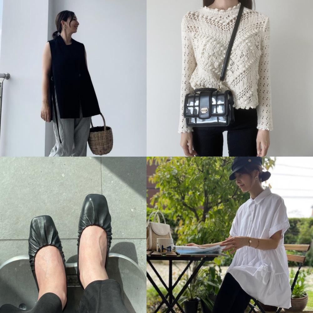 【2021夏のZARA人気アイテム】40代の高見えプチプラコーデにはZARAのモノトーン服が効く! |美女組Pick up!
