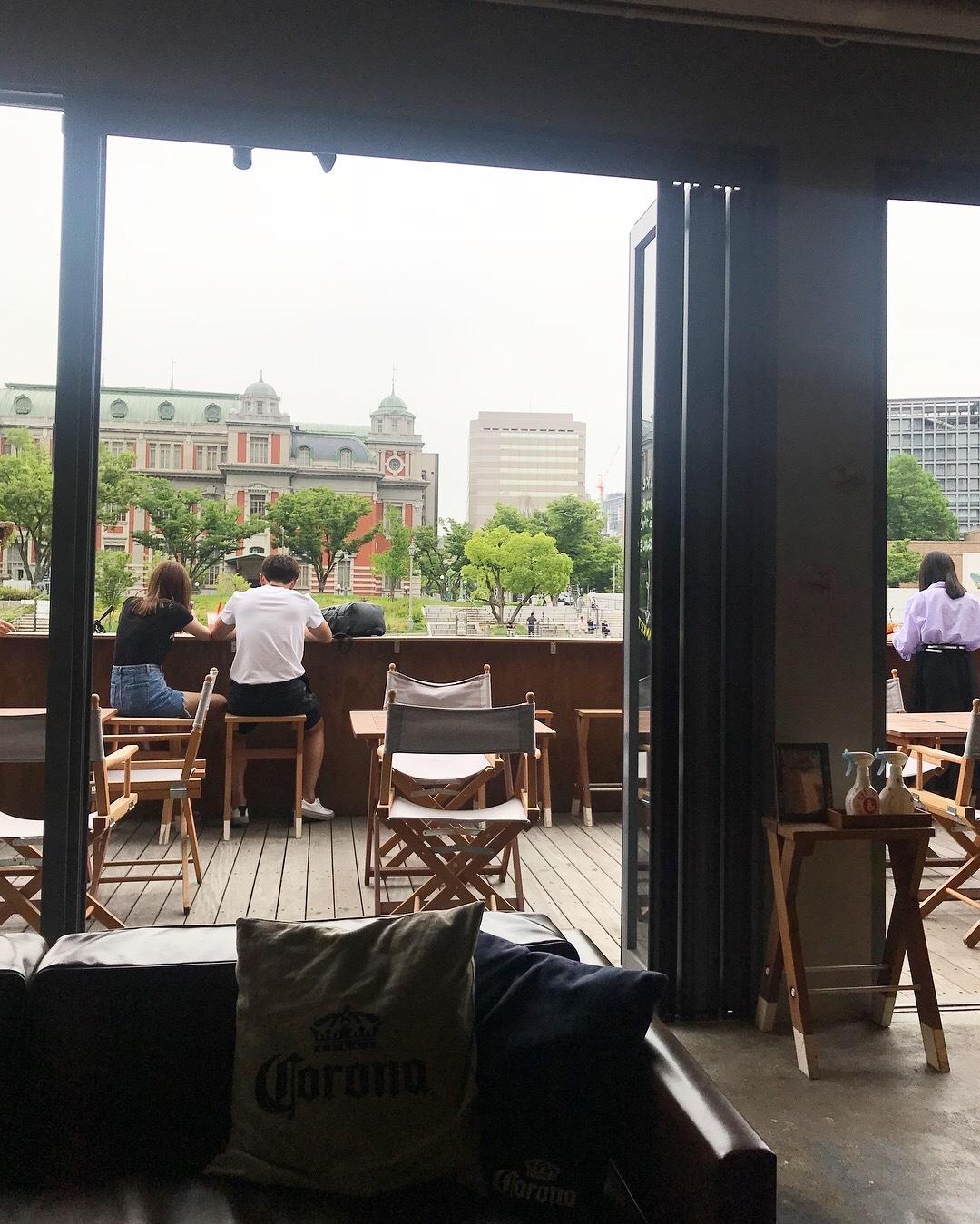 ゆき散歩。新緑の季節は大阪 北浜・中之島のカフェで心地よく_1_2