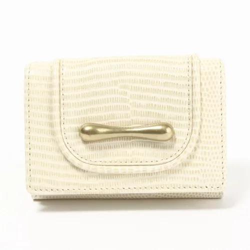 TOFF & LOADSTONE 【デリスリザード】三つ折財布 ¥20,900(税込)