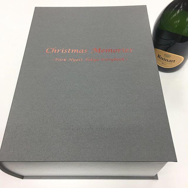 """パークハイアット東京は来年開業25周年!""""本""""がテーマの素敵なboxをいただきました♡_1_1"""