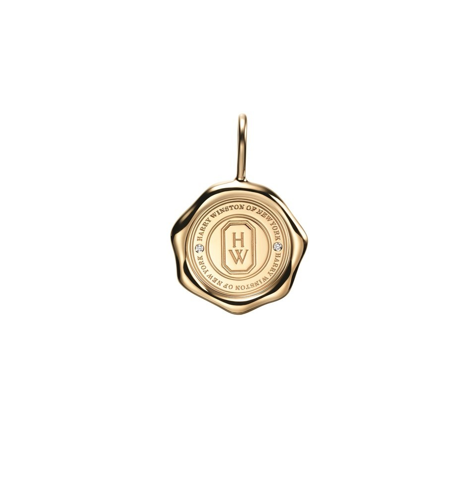 「シールド・バイ・ハリー・ウィンストン」18Kイエローゴールド×ダイヤモンド チャーム