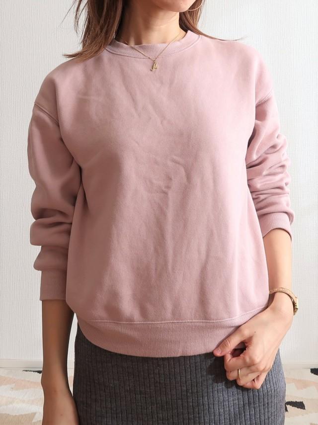 GU990円!くすみピンクで春まで着られる大人スウェットコーデにトライ_1_1