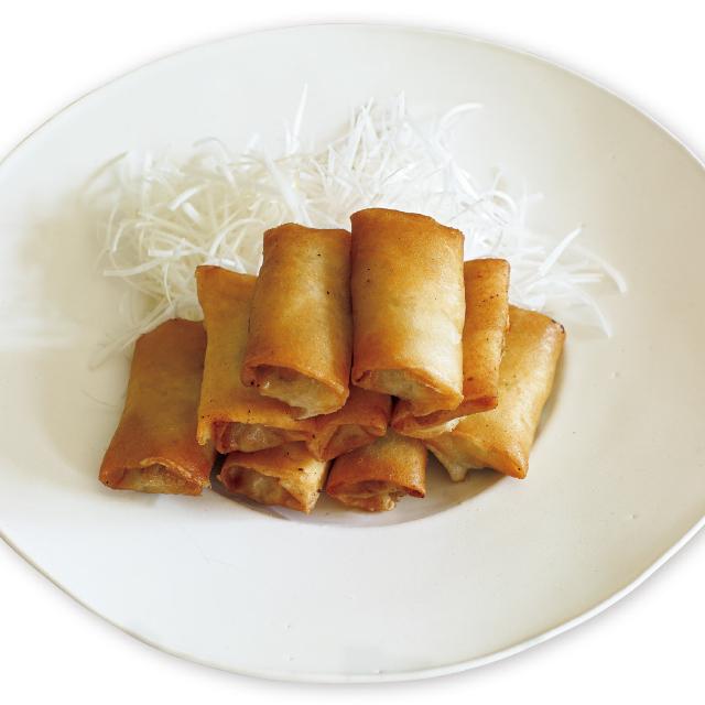 牡蠣の春巻きと白髪ねぎレシピ 有元葉子レシピ