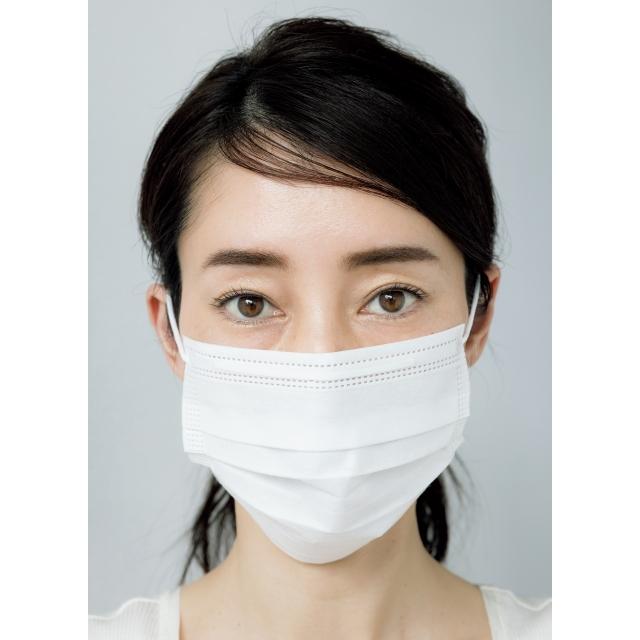 がんばりすぎ眉 マスク着用