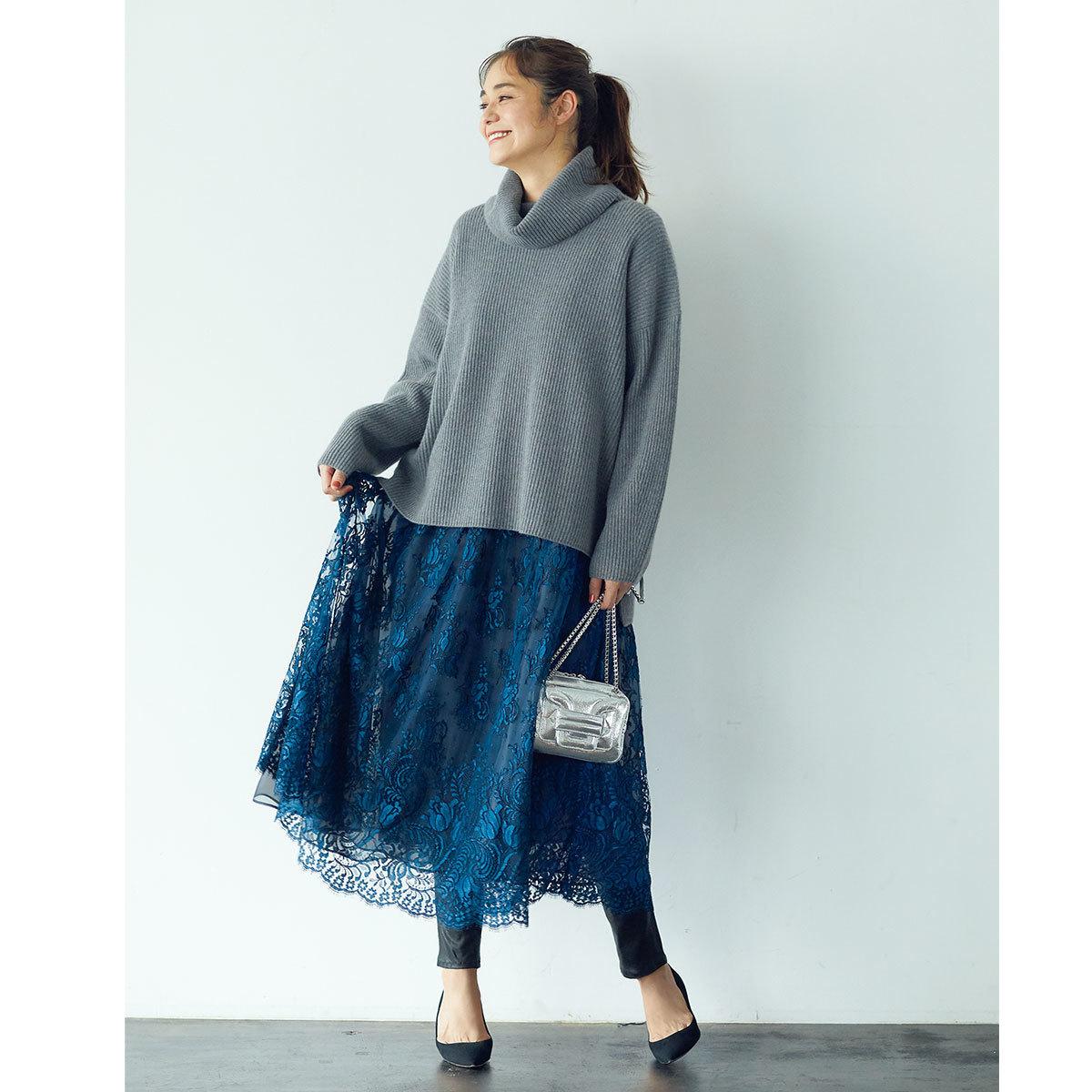 ■華やかなドレスをデイリーに着るテクニック