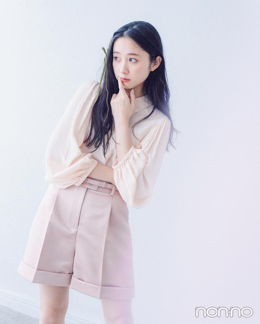 西野七瀬&堀田真由のあいまいカラーコーデ、暖色系はこう着る!_1_7