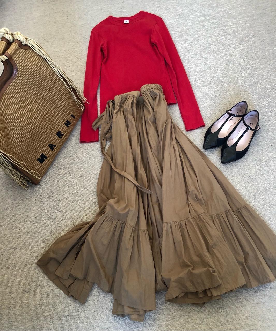 ティアードスカートが好き過ぎて❤︎_1_5