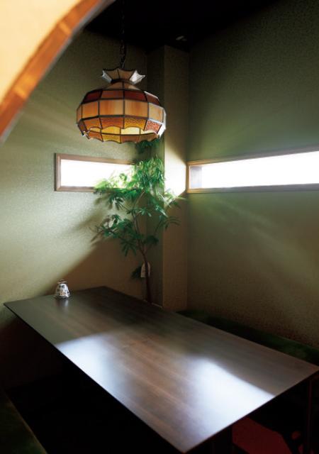 西洋茶屋山本の個室