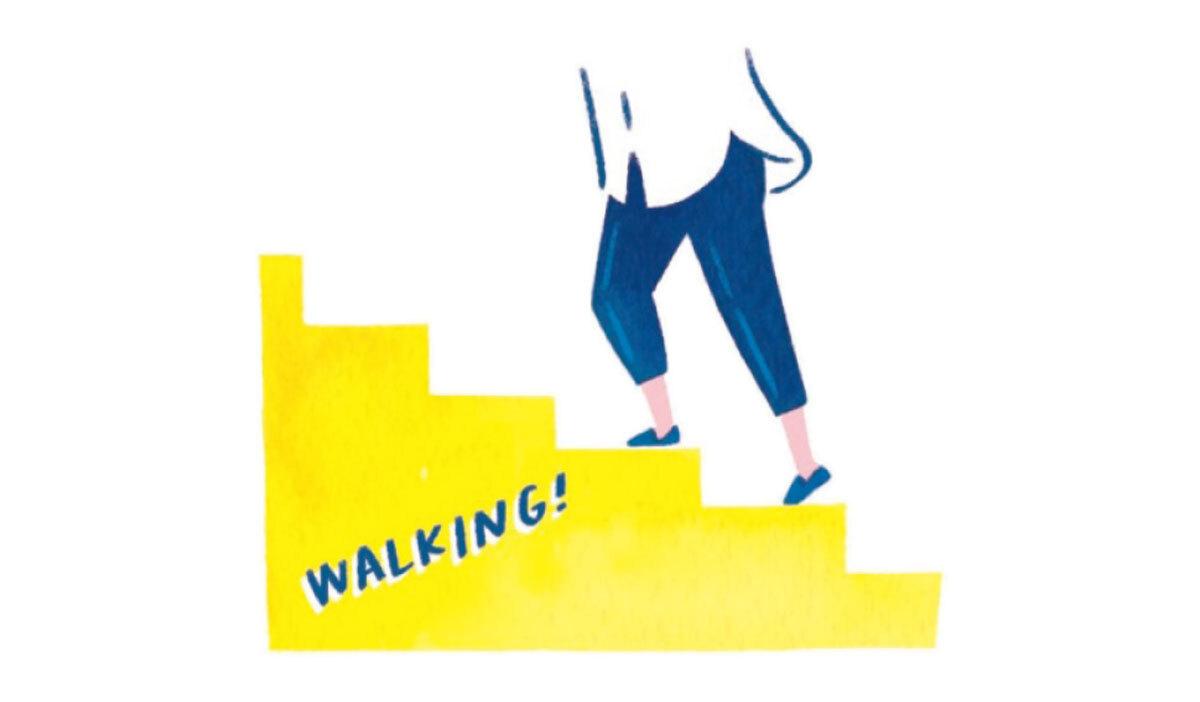 POINT④ 食後に軽く歩くだけでいいので、運動する