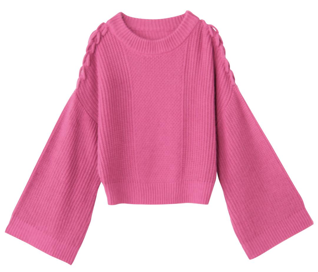着るだけで盛れる♡ 袖コンシャスな女っぽニット4選!_1_3-1