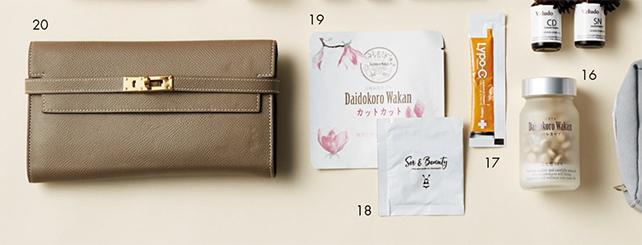 「コールドプレスジュース」ブーム先駆者のバッグには美容のヒントが満載!【働く女のバッグの中身】_1_8