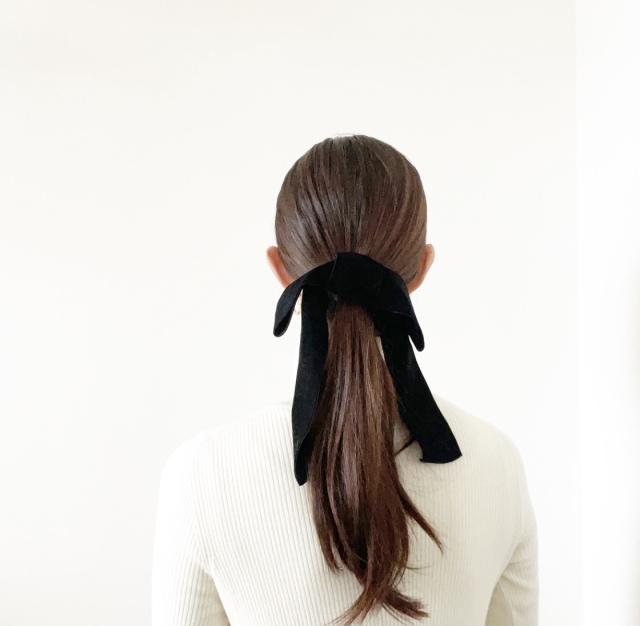 髪と耳を彩る、可愛い価格の小物たち【40代 私のクローゼット】_1_2