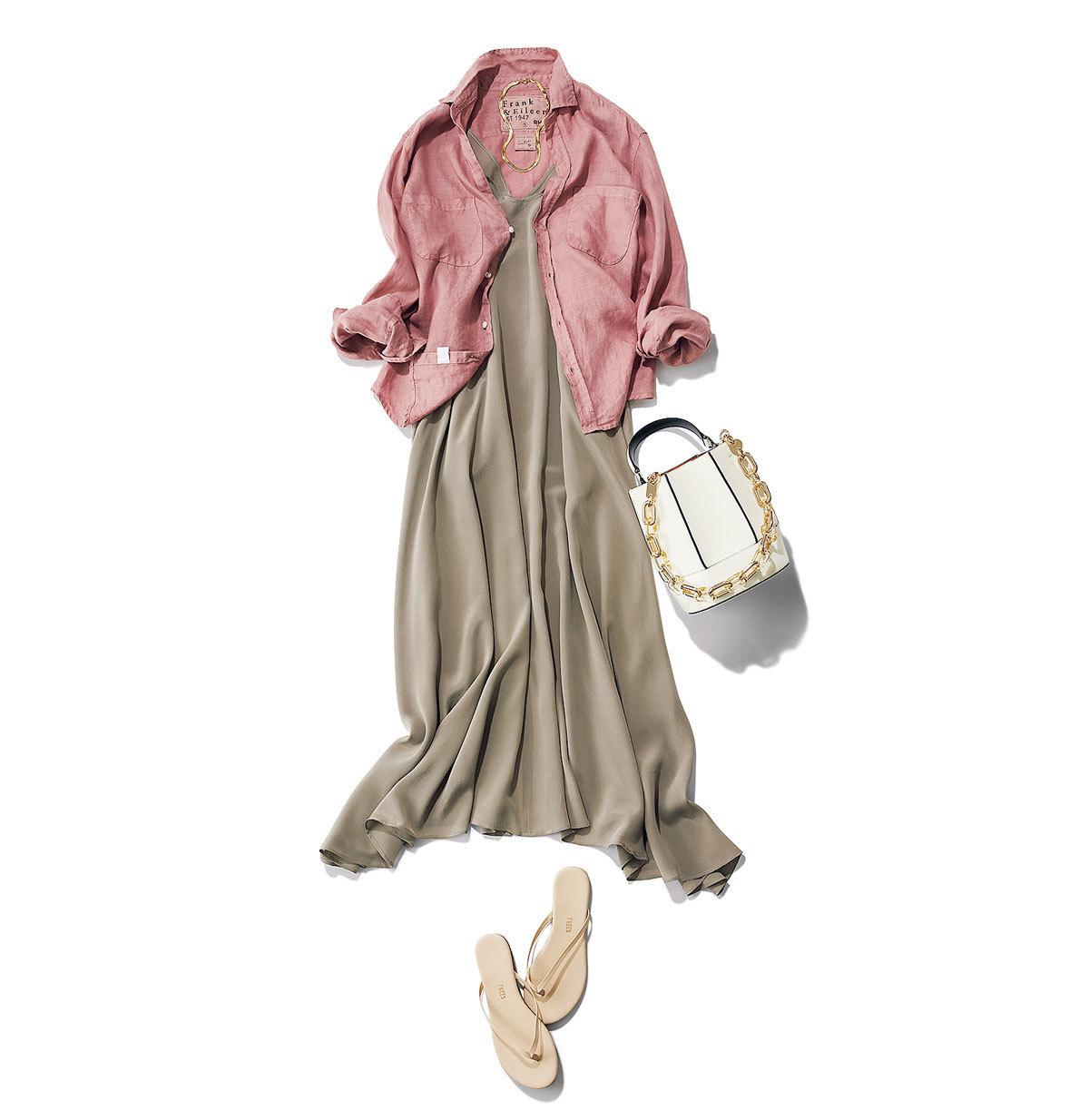 【大人のためのビーサン】アラフォーのカジュアルコーデに似合うビーサンのあわせ方&選び方|40代ファッション_1_3
