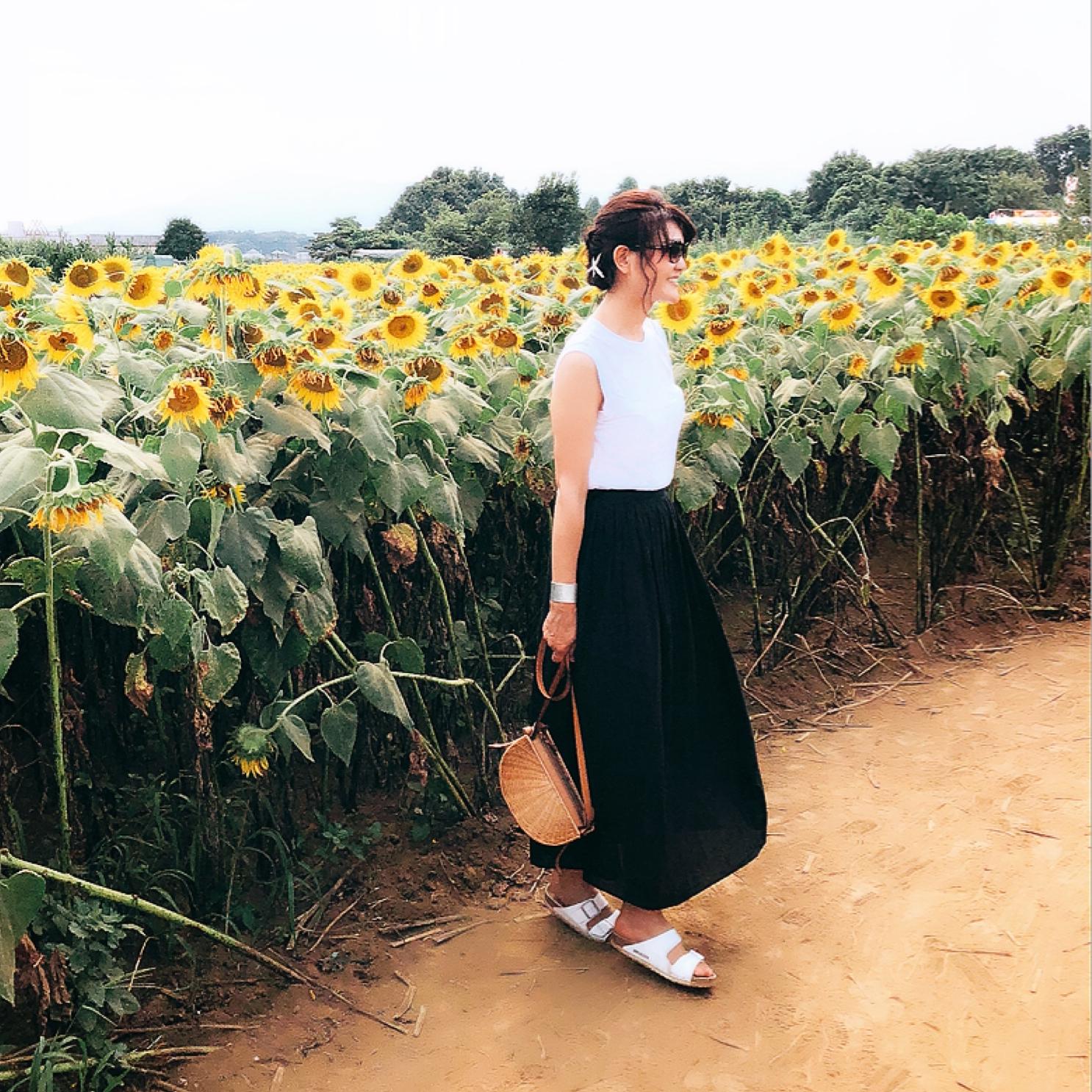 美女組さん真夏のモノトーンコーデ【マリソル美女組ブログPICK UP】_1_1-2