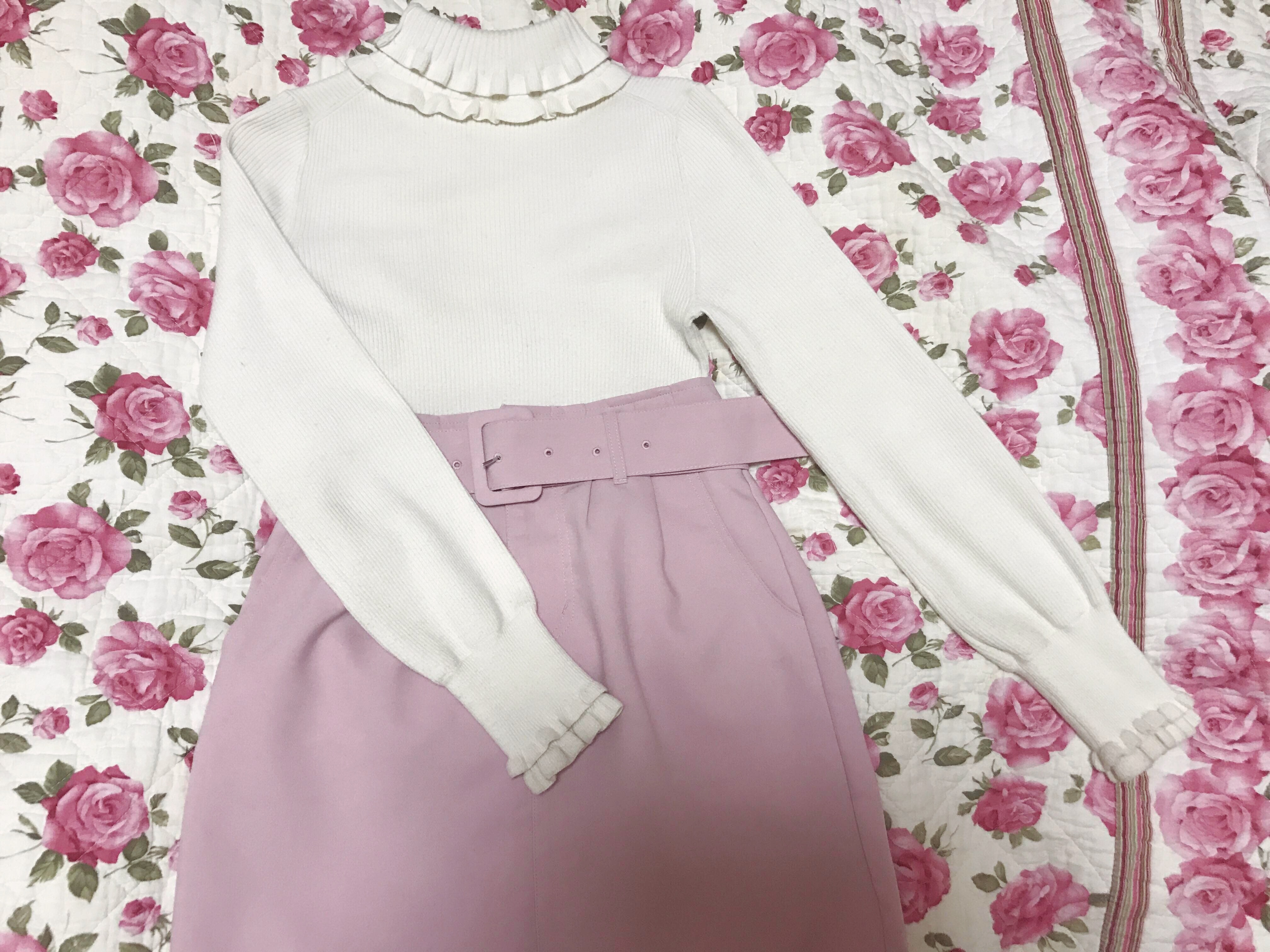 Vol.4♡ Pink × Blackで大人ガーリーcoordinate❤︎_1_6-2