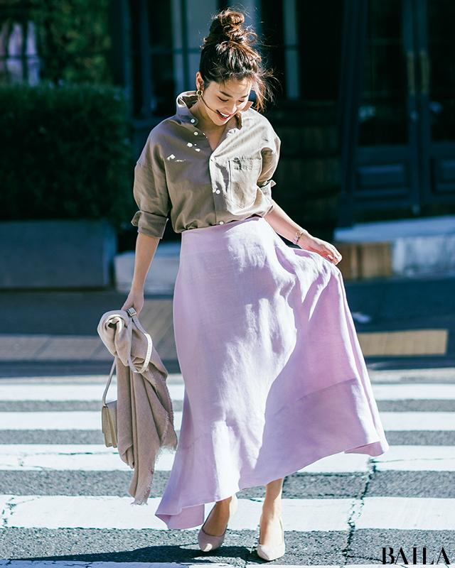 【男性ウケ抜群】アラサー的・夏のモテるファッション30コーデ!_1_15