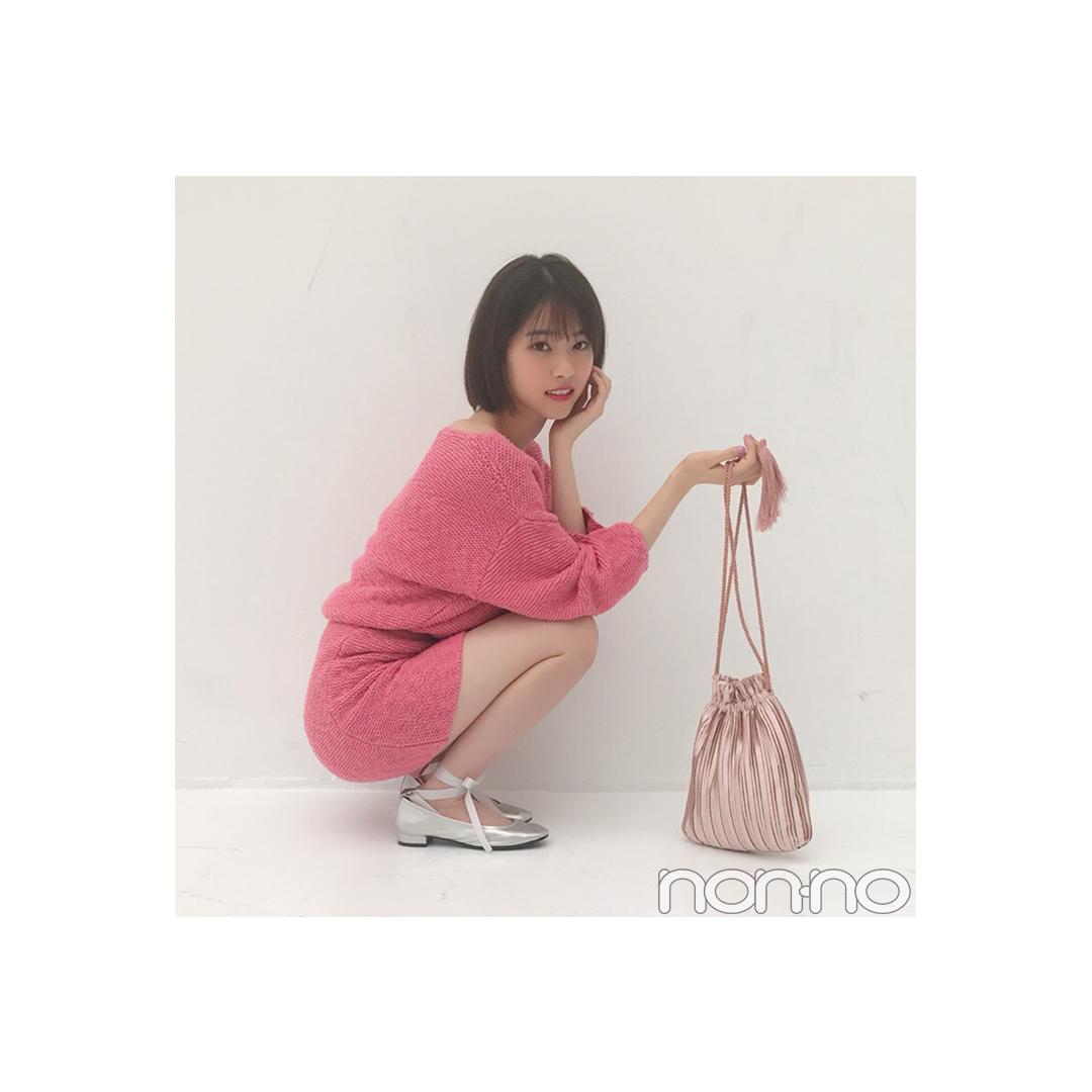 西野七瀬のほんのり肌見せ♡ピンクコーデにキュン!【毎日コーデ】_1_1