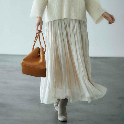 冬の心強いアイテム、マキシスカートで着こなしに華やぎを!_1_3