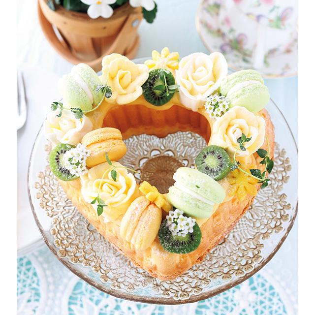 油分ゼロでさっぱり! 軽やかな レモン風味ケーキ