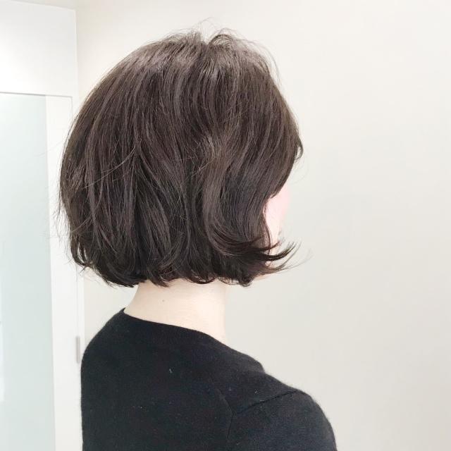 髪型だけでも華やかに!春っぽく!重装備な季節のボブアレンジ_1_1-3