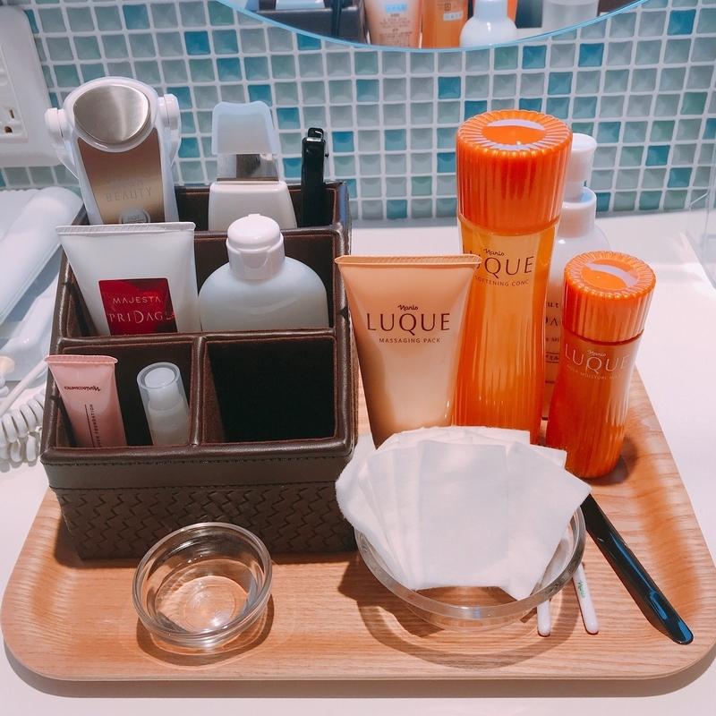 ナリス化粧品の鼻エステ、使用アイテム