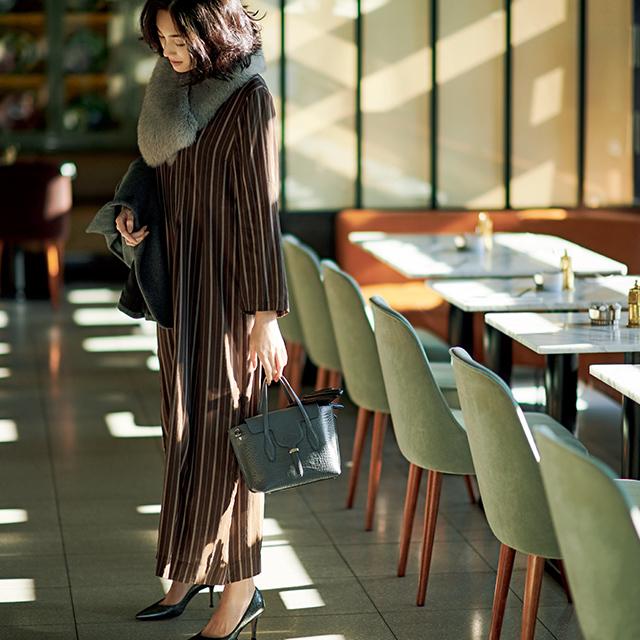 同窓会や食事会にイイね!「リトル ブラック&ブラウン ドレス」 五選_1_3