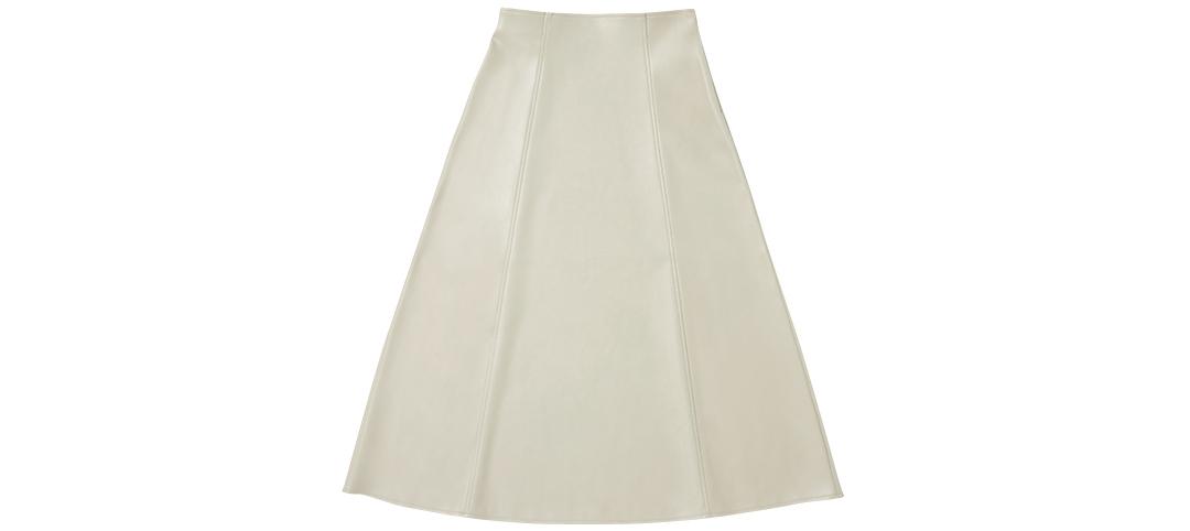 フェイクレザースカート GU
