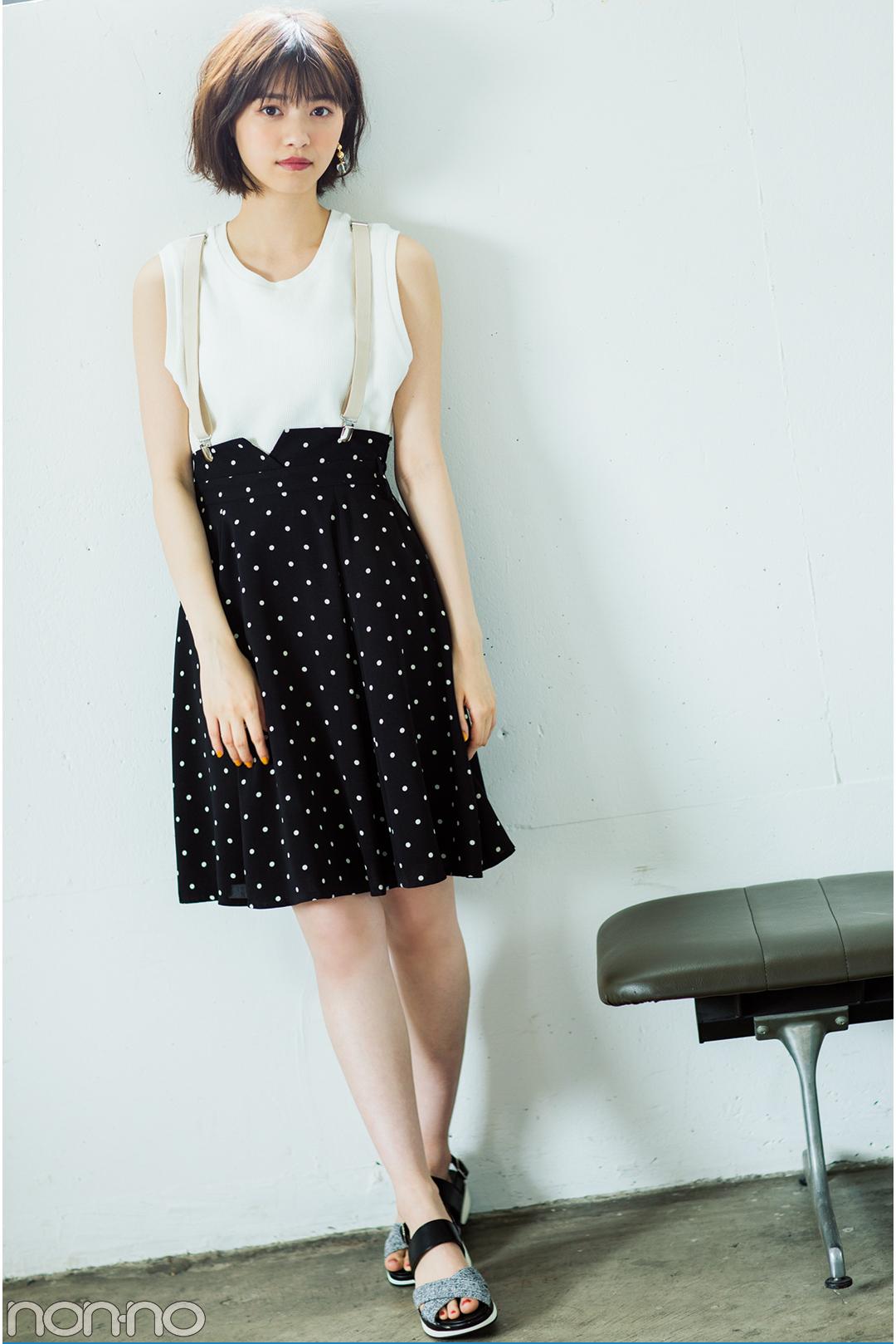 """子どもっぽく見えない!西野七瀬の""""甘く着ない""""夏のミニスカートが可愛い♡_1_3-2"""