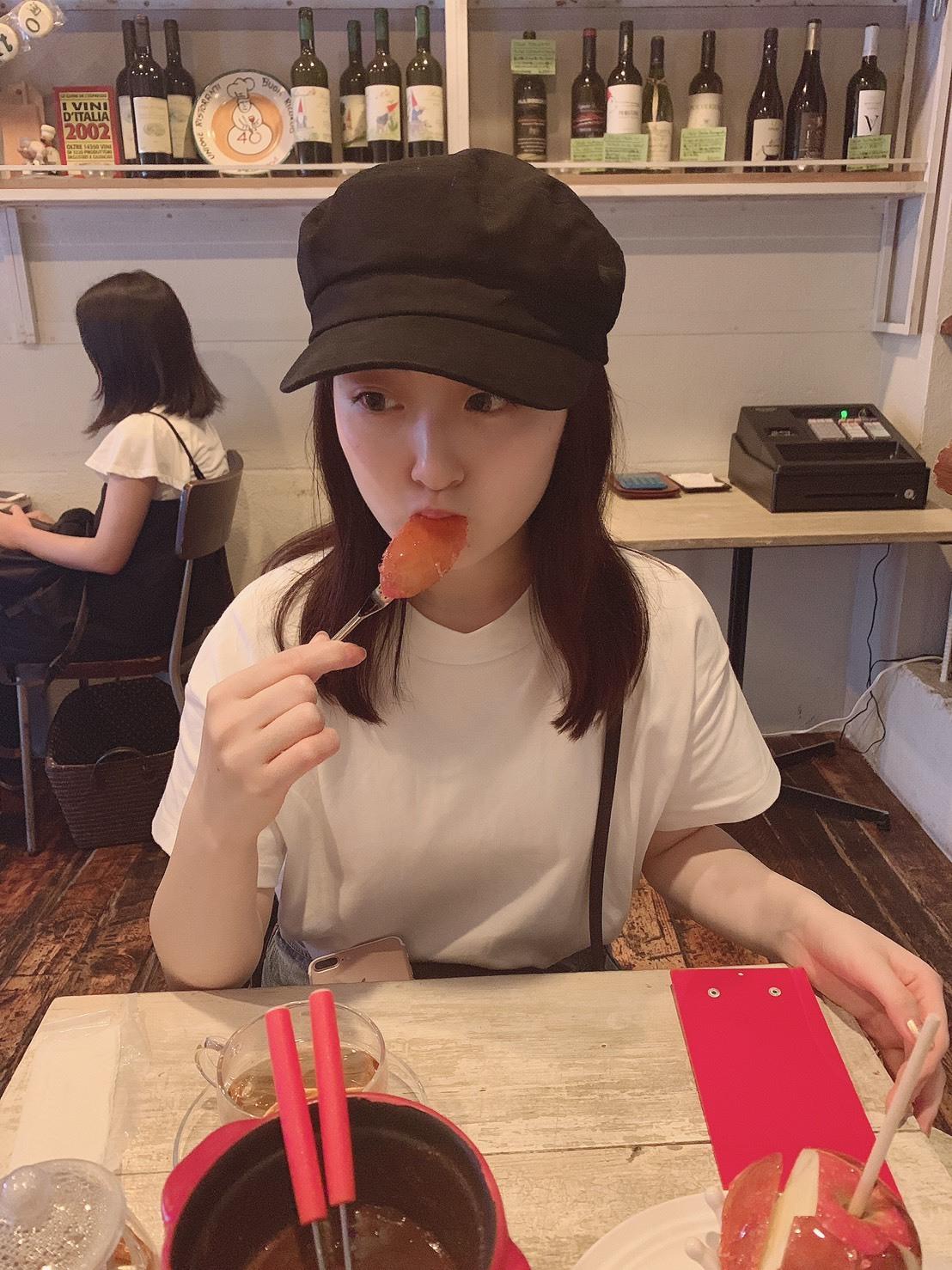 レストランで食べるりんご飴?!?! _1_4