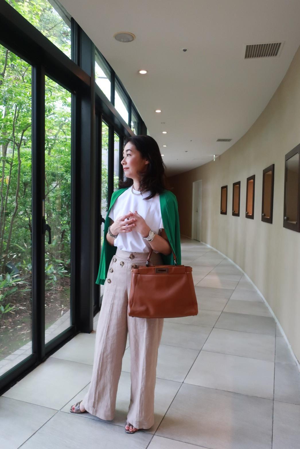 初夏、ハイアットリージェンシー箱根にZARAの白シャツワンピで_1_10