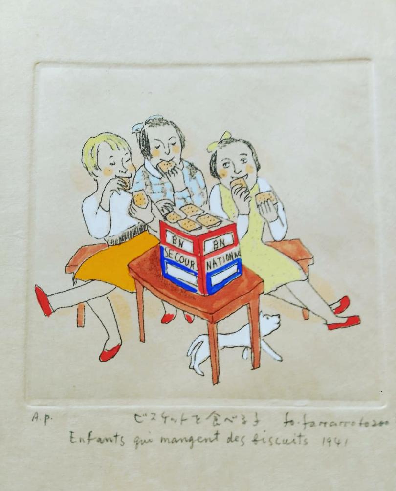 山本容子さん!昔から大ファン!!感激の展示会へ_1_5-2