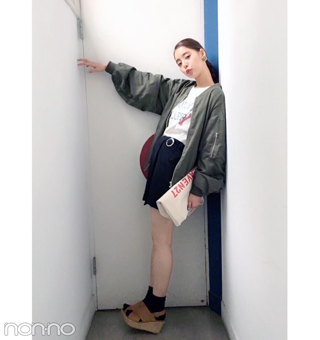 新木優子のヘルシーミニスタイルが可愛すぎる!【毎日コーデ】_1_1
