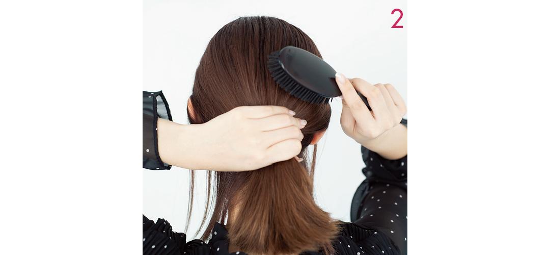 【ヘアアレンジ】まとめ髪を大人っぽく! おくれ毛のベストバランス教えます★_1_5