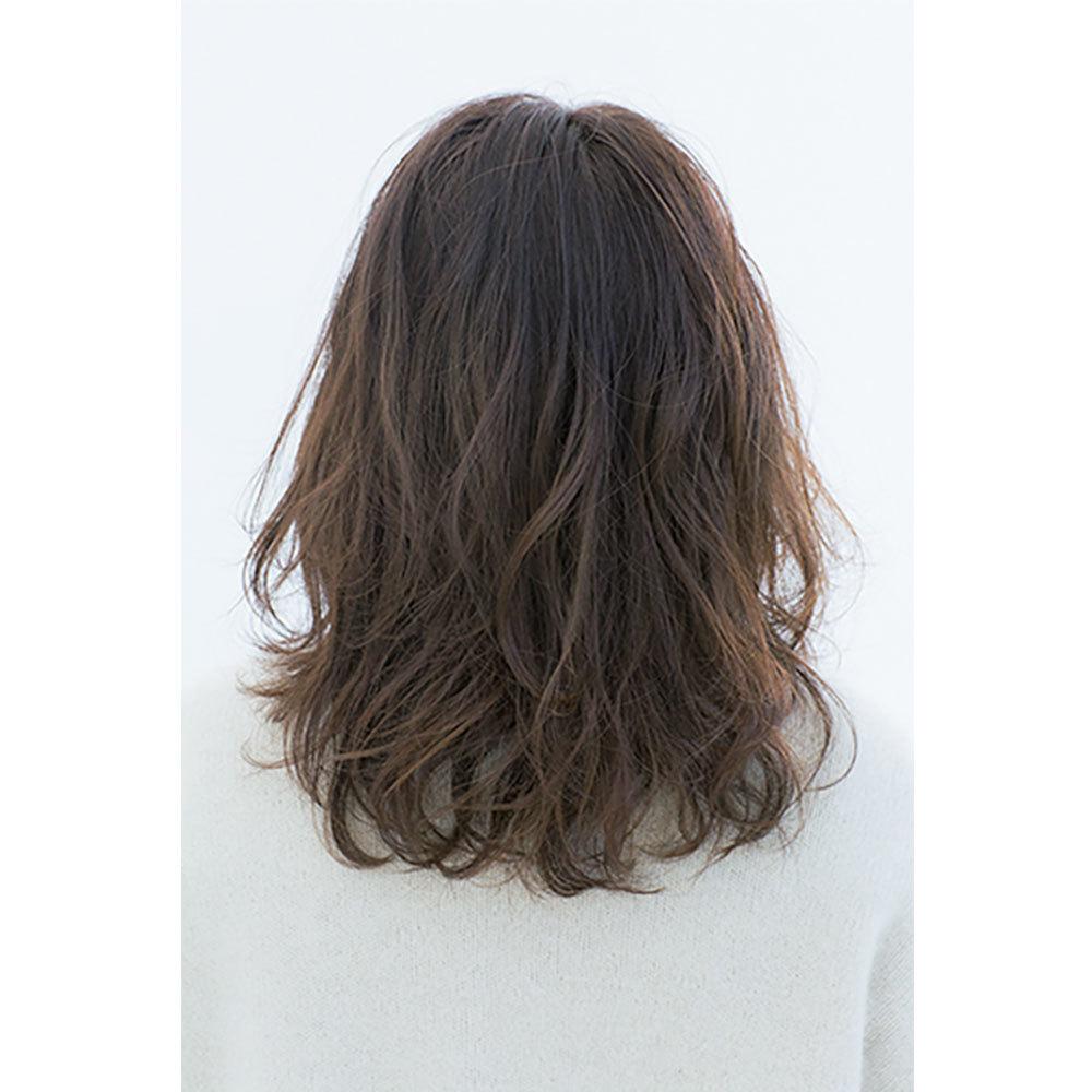 後ろから見た 人気ヘアスタイル2位の髪型