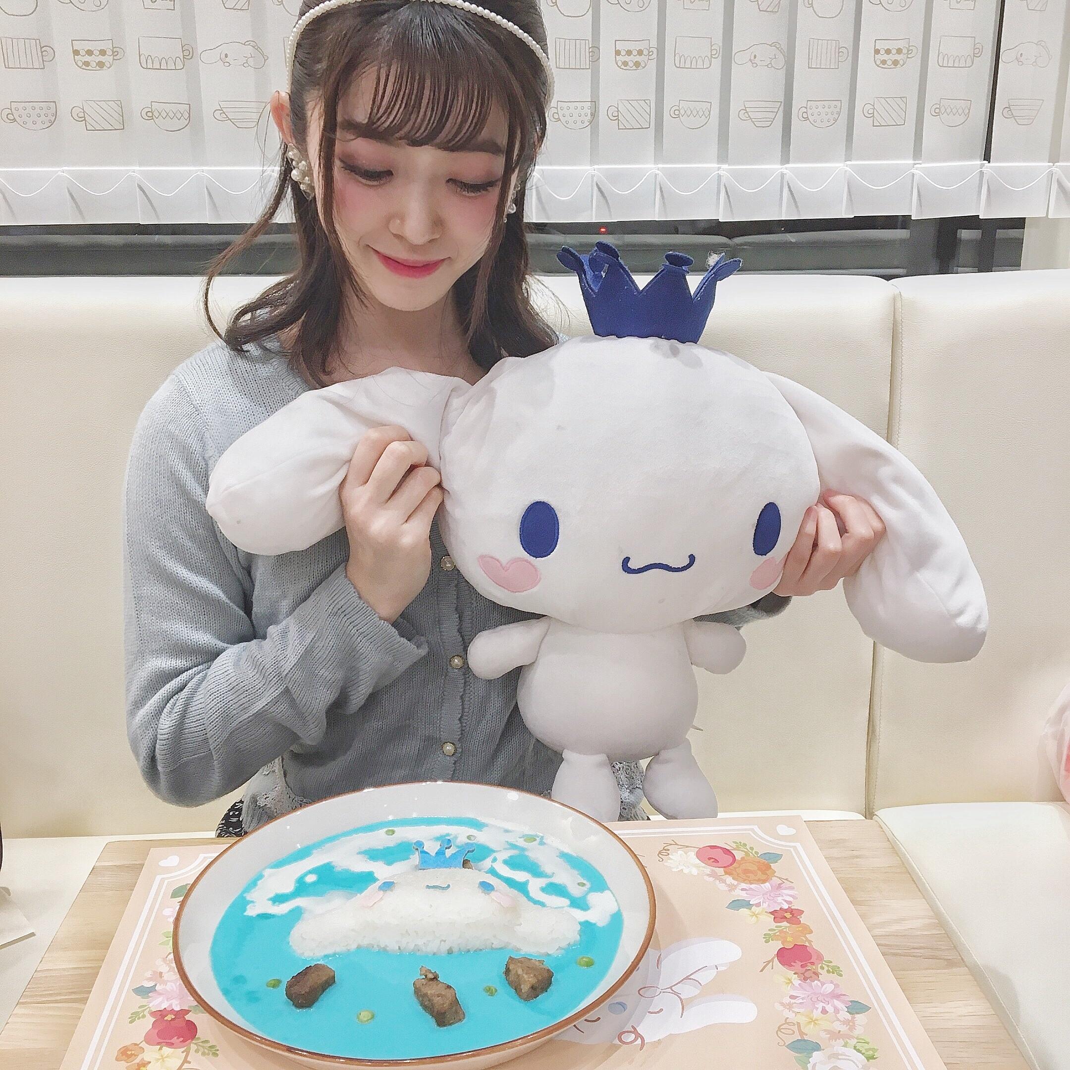 シナモロールカフェの青いメニューが気になる♡_1_8
